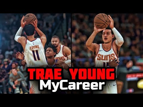 NBA 2K18 Trae Young My Career - The Journey Begins Ep. 1