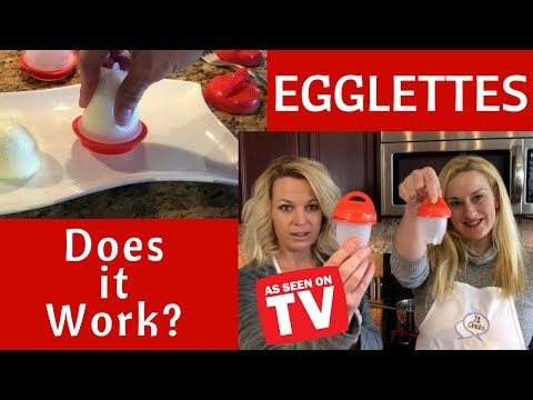 Egglettes Review - Does it work? Hard boil eggs without the shell