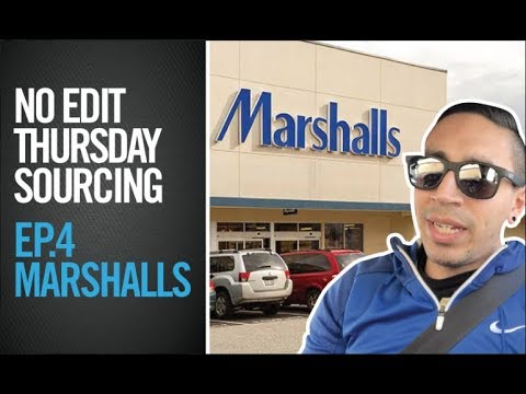 EP 4. MARSHALLS FULL SOURCING TRIP FOR EBAY / AMAZON