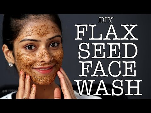 DIY | Flax Seed Face Mask | Face Mask Tutorial | Face Pack | Skincare | Foxy Makeup Tutorials