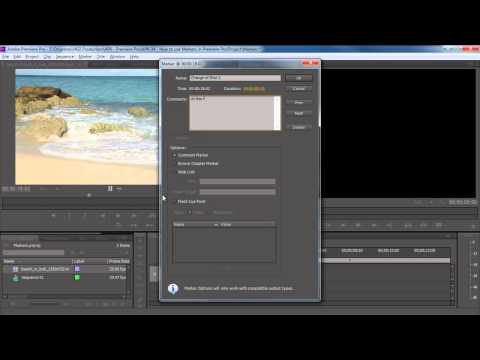 How to Use Markers in Premiere Pro