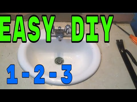 Removing A Porcelain Bathroom Sink