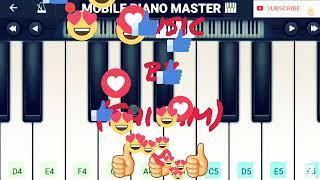 (Hum Tere Bin Ab Reh Nahi Sakte)100% Piano Tutorial|Piano Music  MOBIL