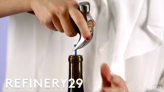 How To Open A Wine Bottle With Anything Hack Your Heart Out Refinery29