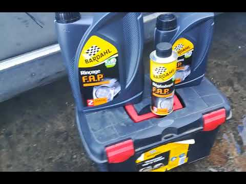 Bardahl DPF cleaning Peugeot 307sw case