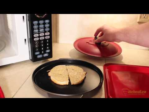 How to make Cheese Toast in the Microwave with Reheatza®