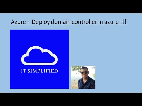 How to Deploy a Domain Controller in Azure?