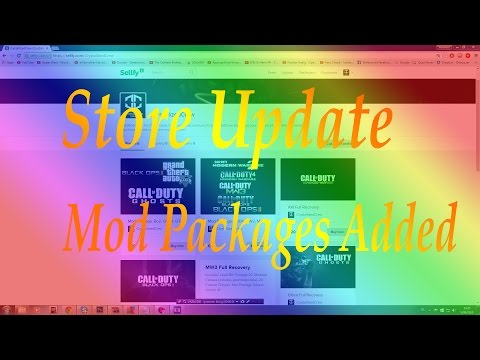 Modding Store Update: Mod Pack Added!
