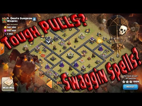 3 STAR LOW Heros NON STOP - Do You Even Need Spells? Queen POP STILL BEST ATTACK TH9 Clash of Clans