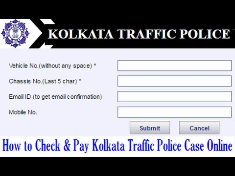 How to Check & Pay Kolkata Traffic Police Pending Cases Online | How to Solve KTP Pending Case