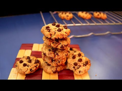 Healthy Chocolate Chip Cookies | Kitchen Time with Neha