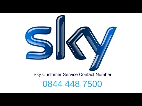 Number For Sky 0844 448 7500