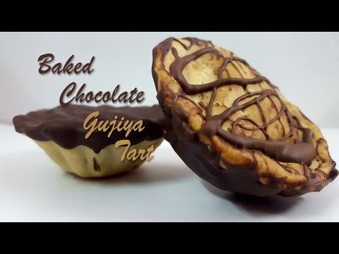 Chocolate Gujiya Recipe-baked mava Gujiya recipe-Khoya Recipe-Holi /Diwali sweets-Indian desserts