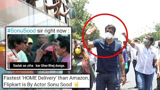 Sonu Sood Helps Migrant Workers, Fans PRAISE Him For Donating Buses, Shares Funny MEMES