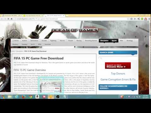 Download FIFA 15 PC Full Version 100% Fast And Working