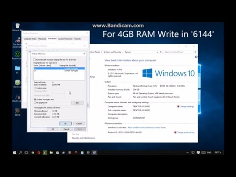 How to Upgrade your virtual RAM on Windows 7/8/10 (2018) Works 100%!