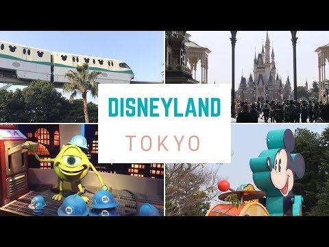 TOKYO DISNEYLAND! A Fun Day in Japan!