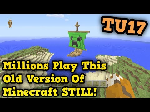 Minecraft PS4 / Xbox One - PEOPLE STILL PLAY THIS UPDATE