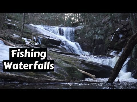 Fishing WATERFALLS In The Mountains For Elusive Trout!