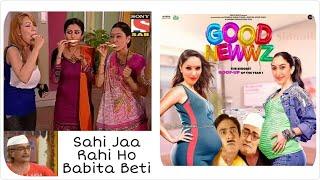 Tarak Mehta ka Oolta Chashma: Latest Babita ji Vs jetha ji memes | Only Legends Will Find It Funny.