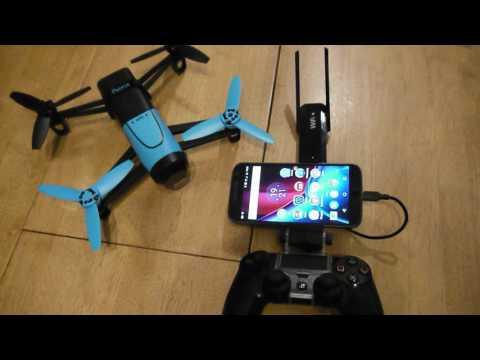 Parrot Bebop Wi Fi Extender and PS4 controller mod - PakVim