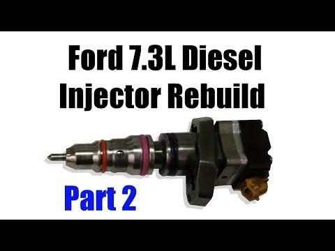 Ford 7.3L Diesel Injector Rebuild (2 of 2)
