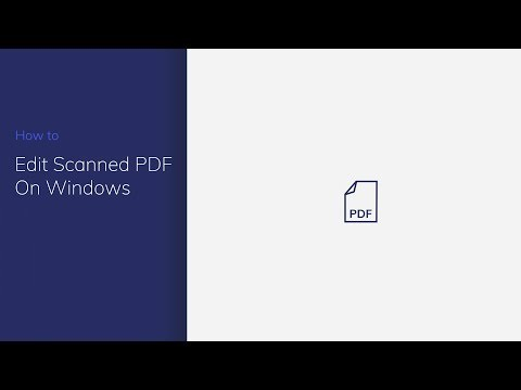 Edit Scanned PDF on Windows with PDFelement