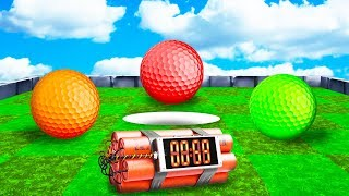 BEAT THE TIMER OR LOSE! (Golf It)