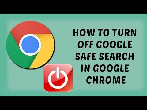 How To Turn OFF Google Safe Search In Google Chrome | Tutorials In Hindi