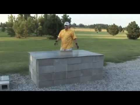 How to Build a Pit BBQ for $250!