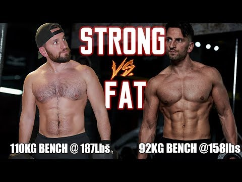 HOW STRONG AND LEAN CAN YOU GET NATURALLY? | The Fat vs Strong Dilemma