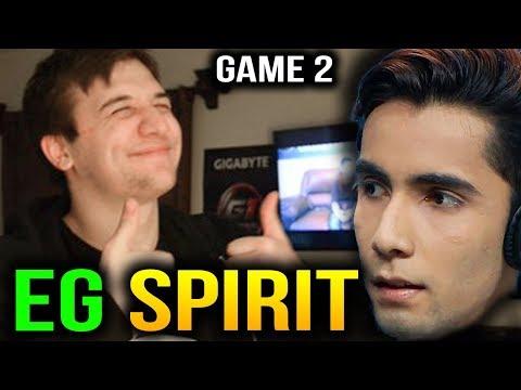 EG vs SPIRIT Spamming Chat Wheel China Dota2 Supermajor Game 1