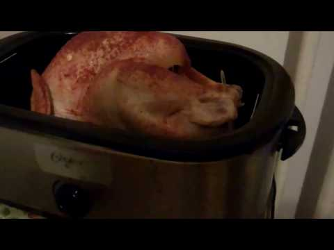 Cooking Jenny O Turkey In A  Oster Roaster Oven