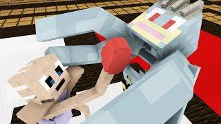 Monster School: Pokemon Battle -- Cubic Minecraft Animation