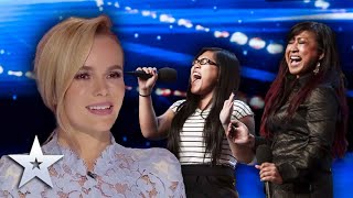 AMAZING mother & daughter duo blow the Judges away!   Britain's Got Talent