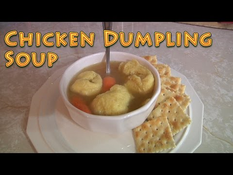 Chicken Dumpling Soup - Country Style
