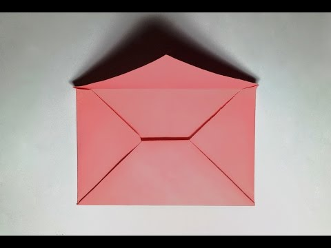Paper Envelope - How to Make a Paper Envelope Without Glue or Tape - Easy Origami Envelope
