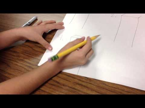 How to draw a 3-D Building/Rectangular Prism
