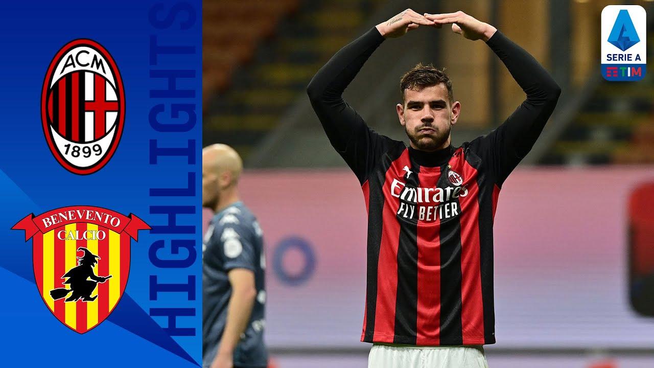 Milan 2-0 Benevento | Milan Back to Winning Ways! | Serie A TIM
