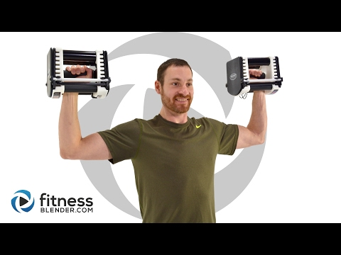 Quick 10 Minute Upper Body Strength Workout - Dumbbell Upper Body Workout
