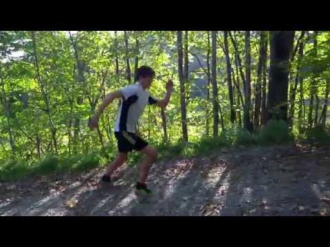 Dry land exercises for cross country skiing