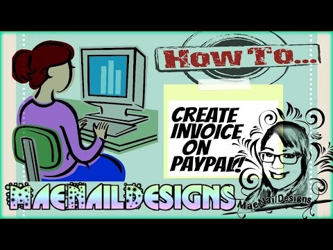 ★How-To: Create Invoice on Paypal | MAENAILDESIGNS