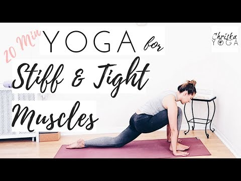 Yoga for Tight and Stiff Muscles | 20 Minute Yoga Stretch for Stiffness | Full Body Yoga Stretch