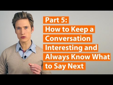 How to avoid awkward silence (Social Success Decoded Part 5)