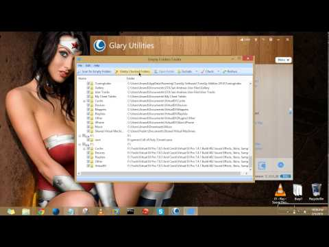 Remove Empty Folders and Duplicate Files from PC tutorial by Anand Garg