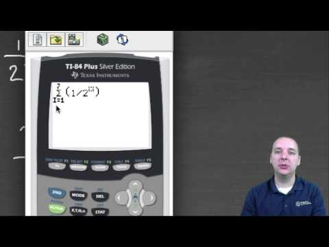 Partial Sums Using the TI Calculator