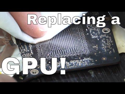 Zhuo Mao ZM-R6200c for Macbook Pro logic board repair, 2011 GPU issue 820-2915