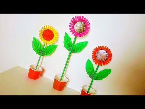 Waste material Craft Idea | New disposable paper cup craft | Best out of waste crafts tutorial