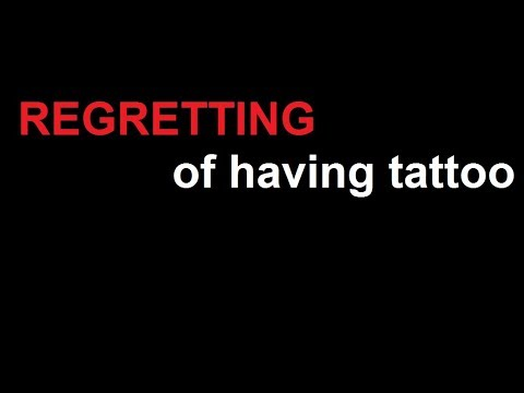 NO LASER: How to REMOVE PERMANENT TATTOOS at Home