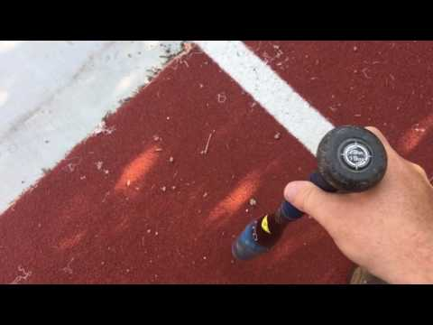 Illegal Bat Review: Combat B2 DaBomb Cage Side Hitting